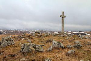 La croix du Lac de Saint Andéol