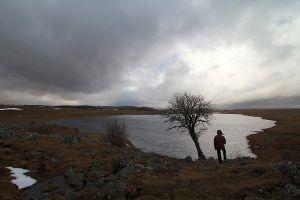 Test de matériel au lac de Saint Andéol en Lozère