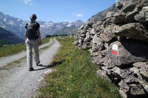 GR 10 sur le plateau de Saugué