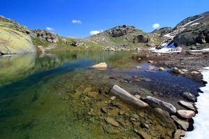 Lac Blanchet dans les Hautes-Alpes