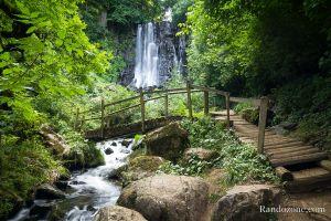 Balade à la cascade de Vaucoux ou d'Anglard