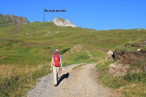 Départ de la rando vers le col du Pourteillou