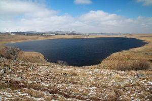 Randonnée entre Marchastel et le lac de Saint Andéol