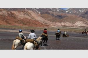 Du Chili à l'Argentine : la traversée des Andes à cheval