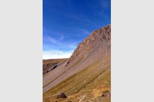 Durant la montée au lac du Goléon, Oisans