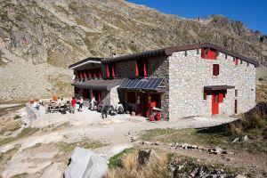 Refuge des Oulettes de Gaube avant l'hiver