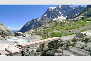 Rando au Glacier Blanc, Ecrins, Alpes