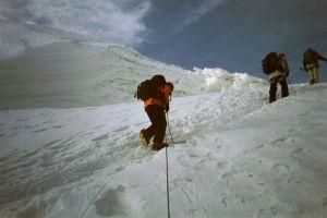 Haute route du Mont Rose en août 2003