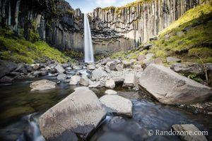 Circuit des cascades dans le Parc National de Skaftafell