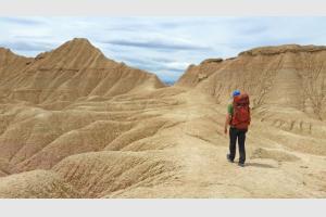 Marcher dans un désert, quel délice !