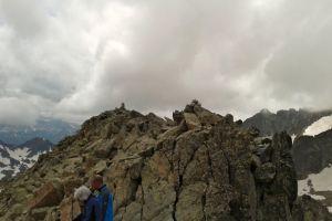 Au sommet du Gavizo Cristail