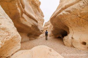 Randonnée dans le désert du Néguev : Cratère Ramon