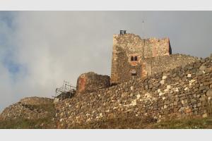 Le château en rénovation