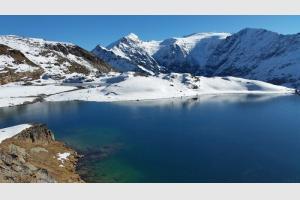 Le lac Verdet porte bien son nom