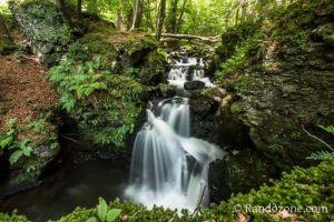 Une des cascades de Chiloza