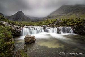 Randonn�e aux Fairy Pools sur l'�le de Skye