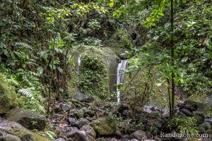 Topo : Le bassin d'eau chaude de la rivière Grosse Corde