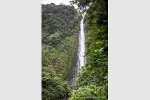 Deuxième chute du Carbet sur Basse-Terre