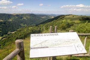 Le plateau de la Chavade