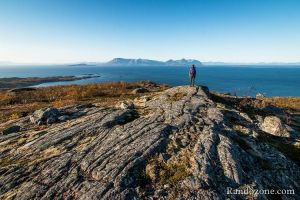 Randonnée sur l'île de Senja en Norvège
