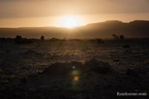 Soleil levant en Mauritanie