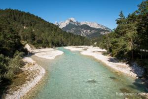 On profite des belles couleurs du Karwendel