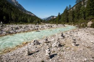 Sortie VTT dans la vallée du Karwendel