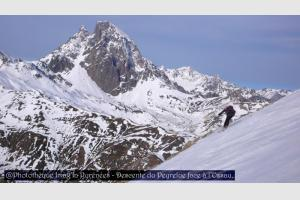 Descente du Peyrelue