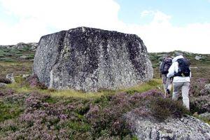 Randonnée plateau de l'Aubrac Col de Bonnecombe