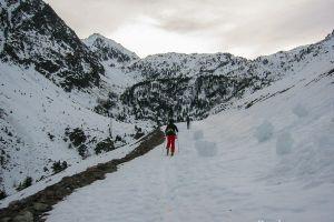 Lac de la Glère en ski de randonnée