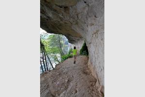 Chemin de halage de Ganil sur le GR 36