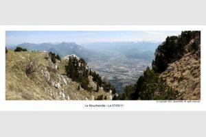 Panoramique depuis la Moucherotte