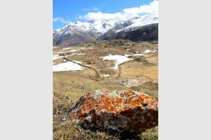 Sur le plateau de Saugué dans les Pyrénées
