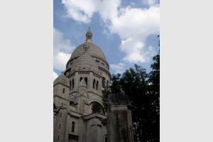 La butte de Montmartre à Paris