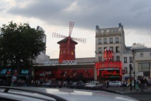 Le Moulin Rouge à Paris