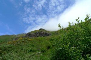 A côté du Puy Mary, volcan d'Auvergne