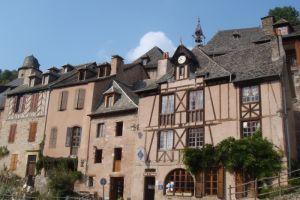 Conques, village Aveyronnais