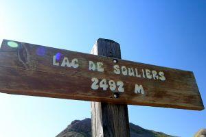 Lac de Souliers 2492 m