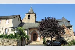 Eglise de Flaujac, près d'Espalion