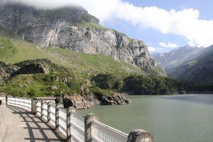 Lac des Gloriettes dans les Pyrénées