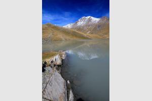Lac du Goléon dans les Hautes-Alpes