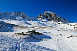 Randonnée en raquettes à neige sous le Pourteillou
