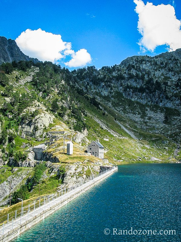 Lac et refuge de la Restanca