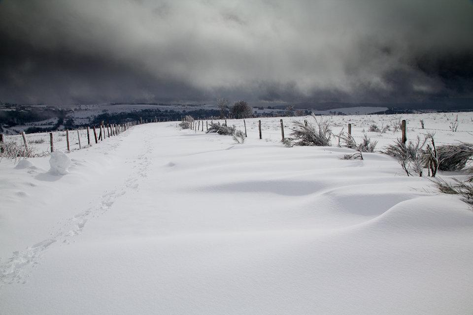 Balade dans la neige en Aveyron - 4