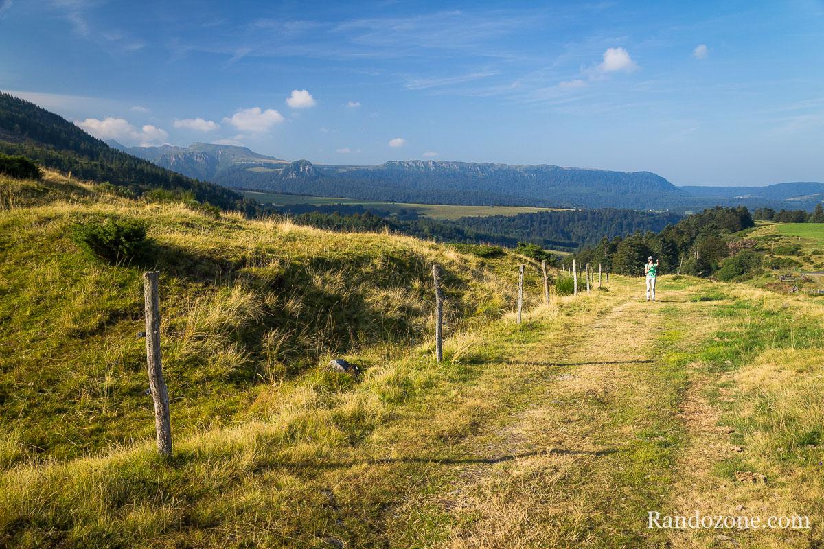 Randonnée au dessus du Mont-Dore