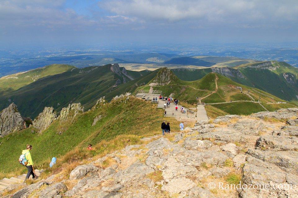 Au sommet du Puy de Sancy
