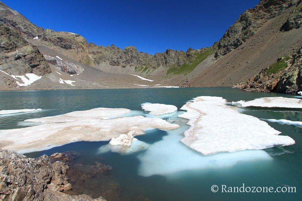 Lac de l'Eychauda et col des Grangettes