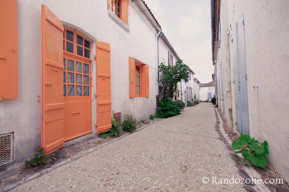 Petite rue de Talmont-sur-Gironde