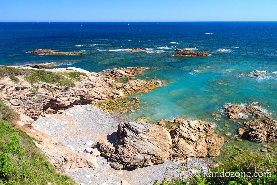 Sur le sentier du littoral dans le Pays-Basque
