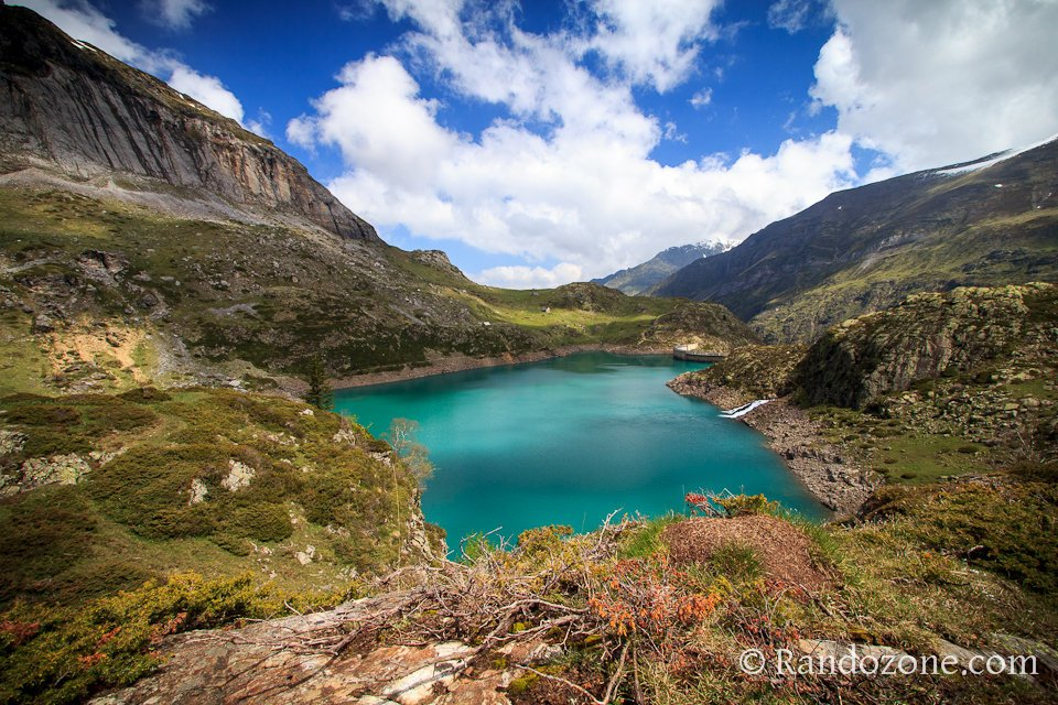 De belles couleurs au lac des Gloriettes